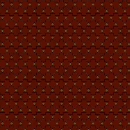 Farmhouse Christmas - Red Geometric