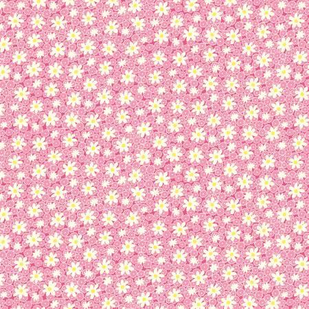 Nana Mae V - Pink Packed Daisies