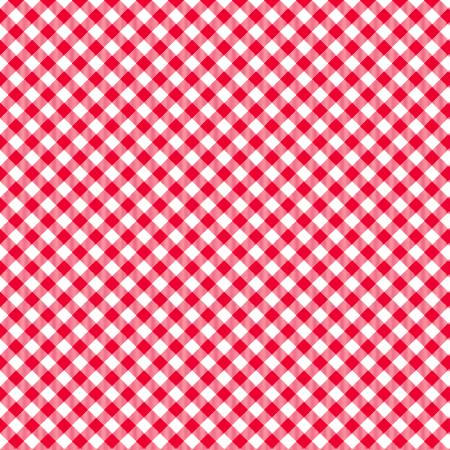 Red/White 1/8in Check
