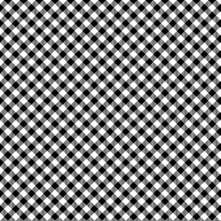 Checks - Black/White (1/8 In)