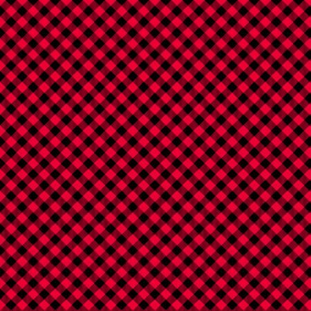 Checks - Red/Black (1/8in)