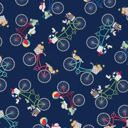 Kimberbell Navy Bicycles MAS9712-N