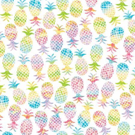 Tropical Breeze White Pineapple Paradise  9715-09