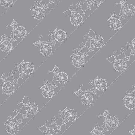 Grey Diagonal Bikes
