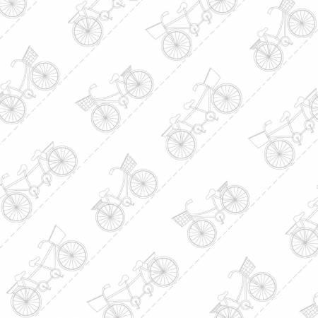 Kimberbell Ultra White/Grey Diagonal Bikes MAS9716-UWK
