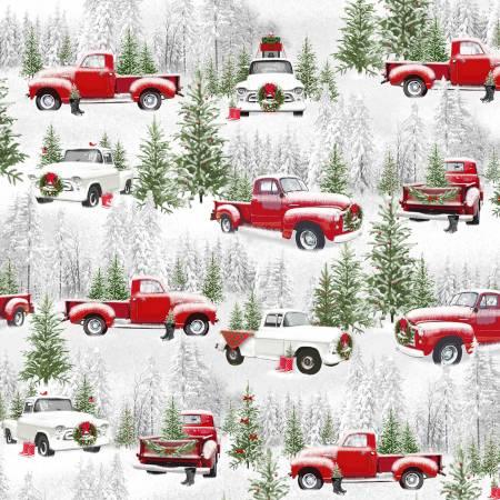9728-98 Grey Medium Trucks  (21I)
