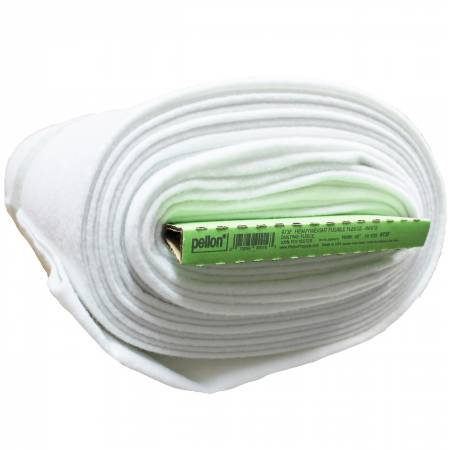 Heavyweight Fusible Fleece 45in x 10yds White
