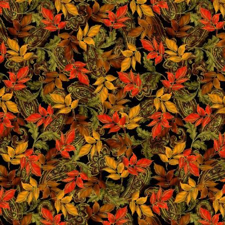 Radiant Leaves w/Metallic