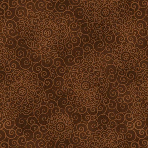 Brown Steam Swirl