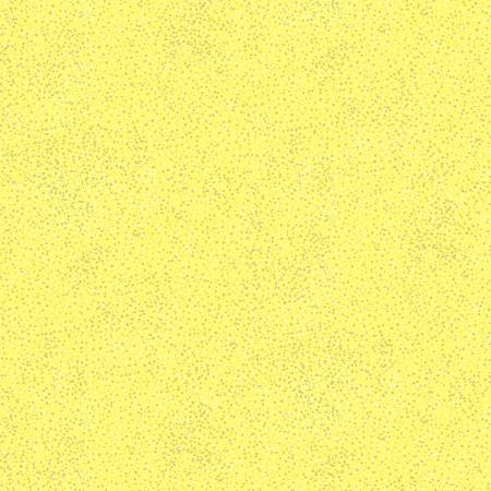 9756M-03 Lemon Yellow Metallic Moonlit Dots Moonlight Serenade Berartex