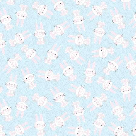 Hippity Hoppity Blue Bunny Hop 9759-05