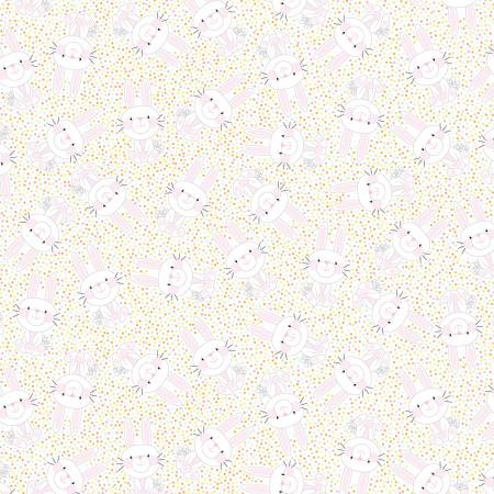 Hippity Hoppity White Bunny Hop 9759-98