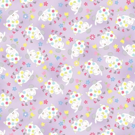 Hippity Hoppity Lilac Springy Sheep 9760-06