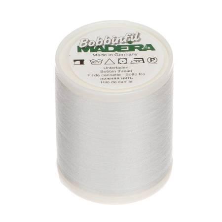 Bobbinfil Polyester Bobbin Thread White