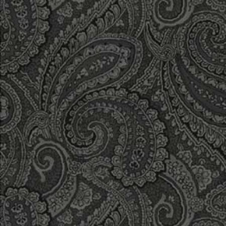 Black Paisley 108in Wide Back *