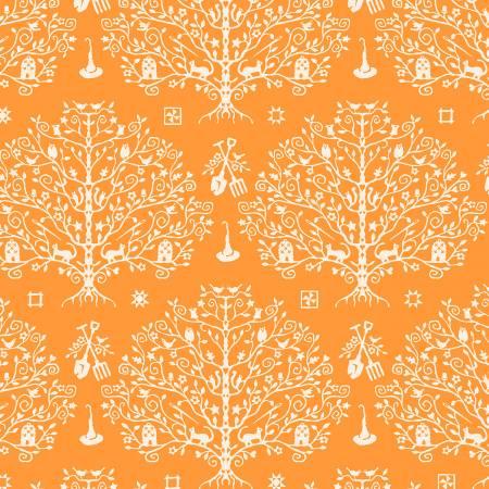 Paper Cut Tree/Orange: Spellcaster's Garden