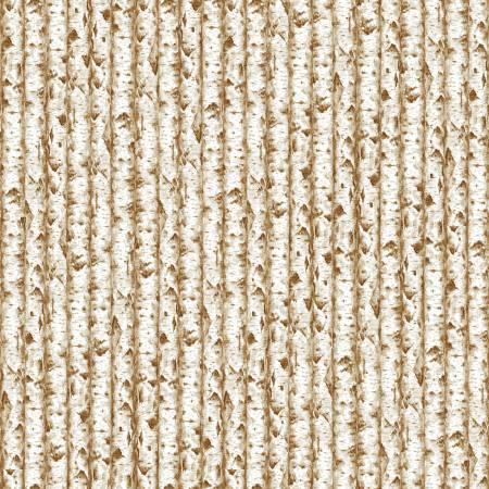 Cream Birch Texture Stripe - 9829-44