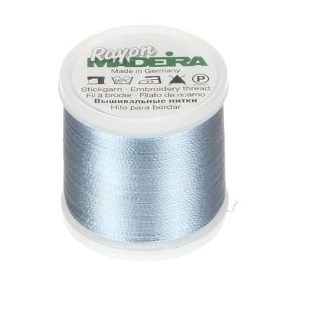 Rayon Embroidery Thread 40wt 220yds Pale Powder Blue