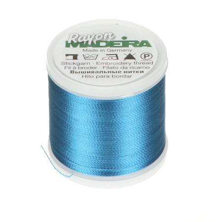 Rayon Embroidery Thread 40wt 220yds Duck Wing Blue