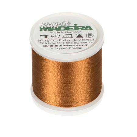 Madeira Rayon Embroidery Thread 40wt 220yds Tan