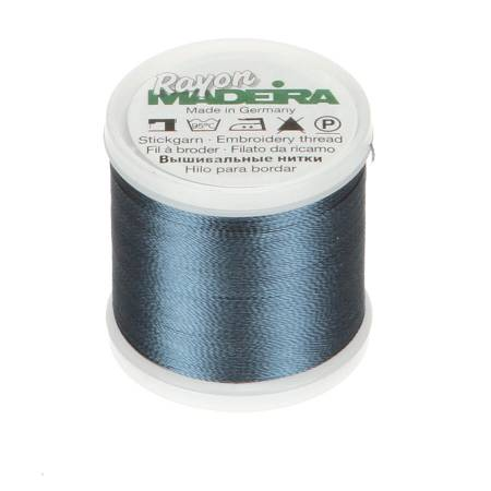 Rayon Embroidery Thread 40wt 220yds Medium Weathered Blue