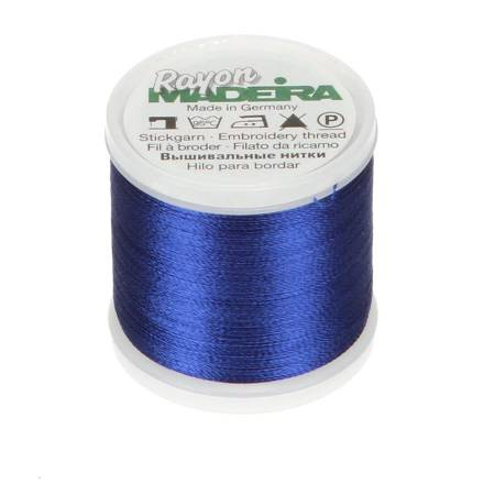 Rayon Embroidery Thread 40wt 220yds Bright Navy