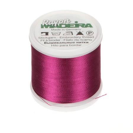 Rayon Embroidery Thread 40wt 220yds Fuchsia