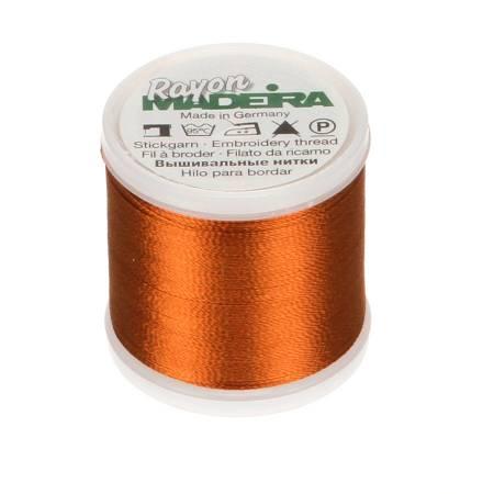 Madeira Dark Maple Rayon Embroidery Thread 40wt 220yds
