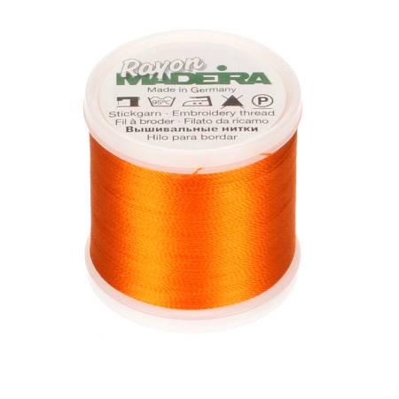 Rayon Embroidery Thread 40wt 220yds Ture Orange