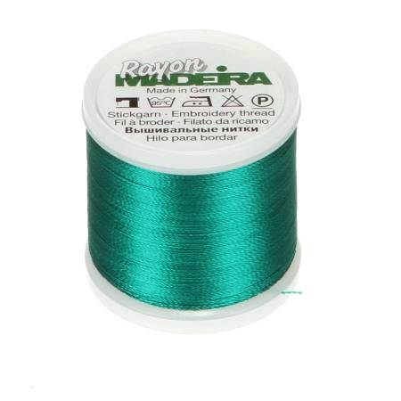Rayon Embroidery Thread 40wt 220yds Deep Aqua