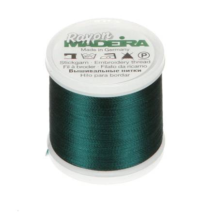 Rayon Embroidery Thread 40wt 220yds Midnight Teal
