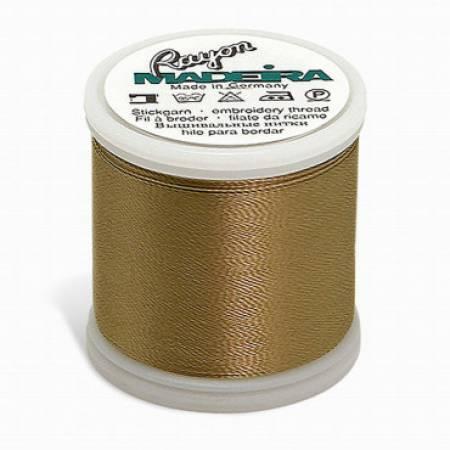 Madeira Burnt Toast Rayon Embroidery Thread 40wt 220yds