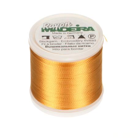 Rayon Embroidery Thread 40wt 220yds Butterfly Gold
