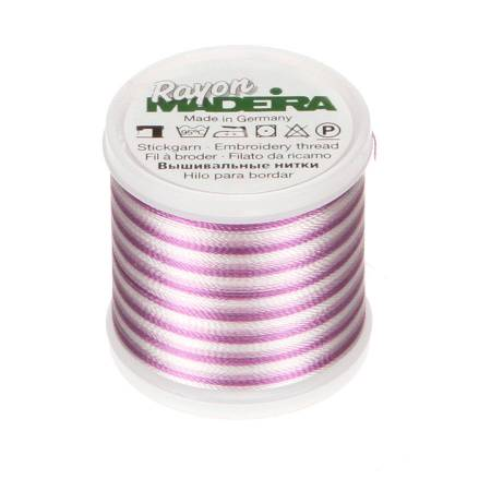 Madeira Ombre Orchids Violet Rayon Embroidery Thread 40wt 220yds