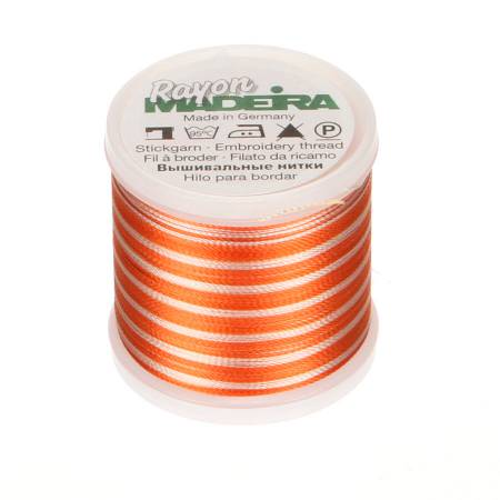 Rayon Embroidery Thread 40wt 220yds Ombre Rust/Peach