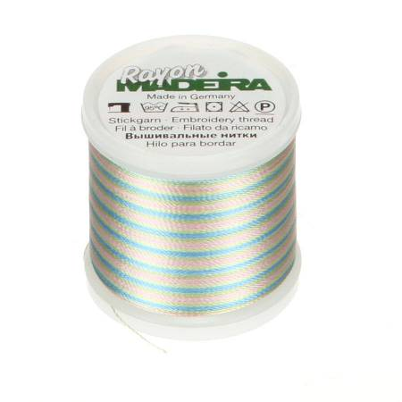 Rayon Embroidery Thread 40wt 220yds Multicolor