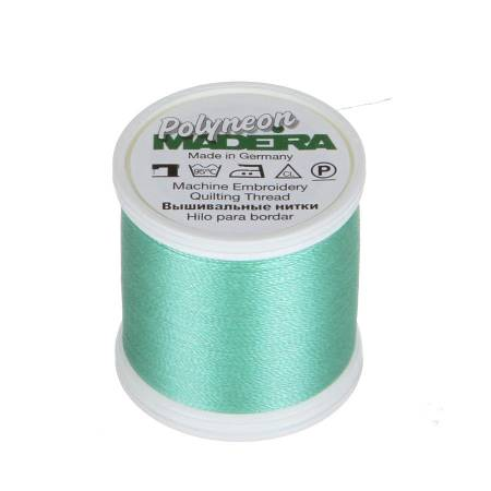 Polyneon Polyester Embroidery Thread 2-ply 40wt 135d 440yds Seafoam