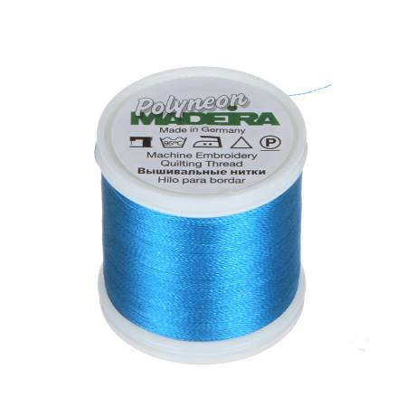 Polyneon Polyester Embroidery Thread 2-ply 40wt 135d 440yds Turquoise
