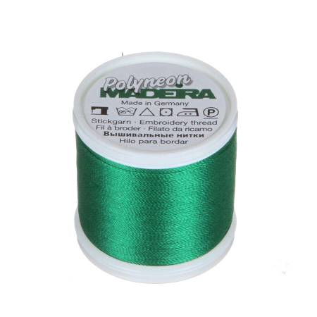 Polyneon Polyester Embroidery Thread 2-ply 40wt 135d 440yds Emerald