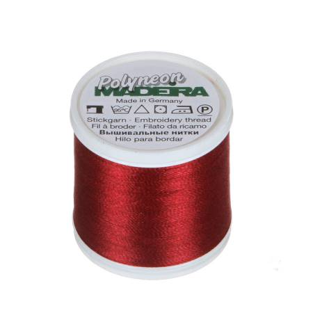 Polyneon Polyester Embroidery Thread 2-ply 40wt 135d 440yds Cranberry