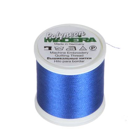 Polyneon Polyester Embroidery Thread 2-ply 40wt 135d 440yds Royal Blue