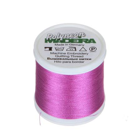 Polyneon Polyester Embroidery Thread 2-ply 40wt 135d 440yds Orchid