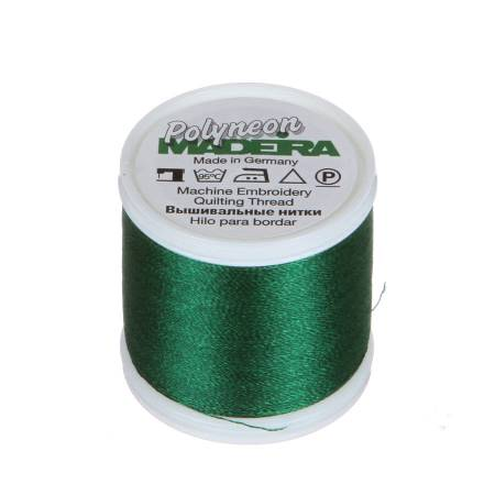 Polyneon Polyester Embroidery Thread 2-ply 40wt 135d 440yds Evergreen