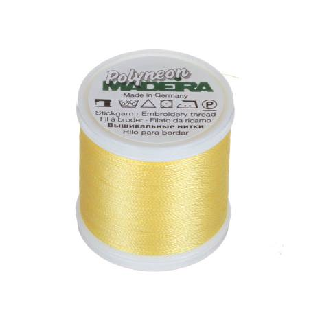 Polyneon Polyester Embroidery Thread 2-ply 40wt 135d 440yds Lemon Frost