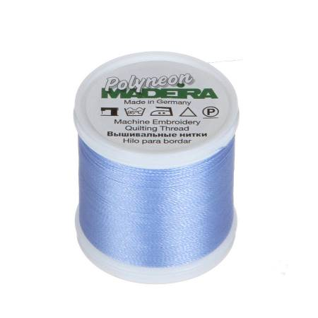 Polyneon Polyester Embroidery Thread 2-ply 40wt 135d 440yds Lake Blue