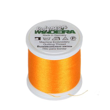 Polyneon Polyester Embroidery Thread 2-ply 40wt 135d 440yds Golden Rod