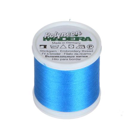 Polyneon Polyester Embroidery Thread 2-ply 40wt 135d 440yds Sapphire