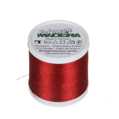 Polyneon Polyester Embroidery Thread 2-ply 40wt 135d 440yds Winterberry