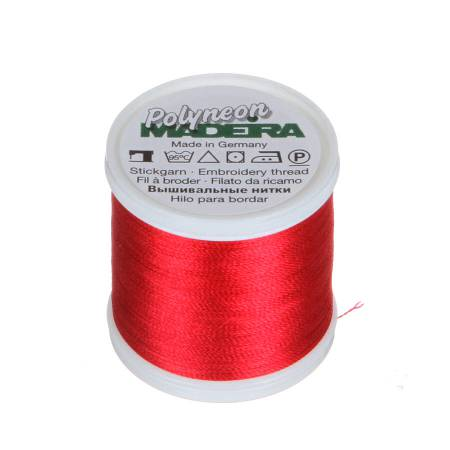 Polyneon Polyester Embroidery Thread 2-ply 40wt 135d 440yds Rose