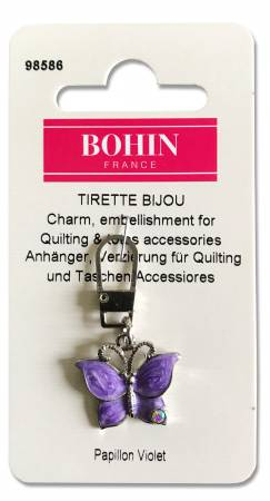 Decorative Charms Purple Butterfly